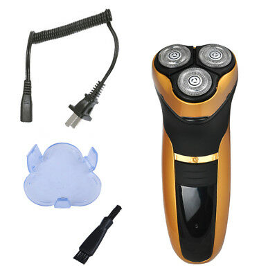 New Rotary Men's 3D Rechargeable Washable Cordless Electric Shaver Razor Deluxe