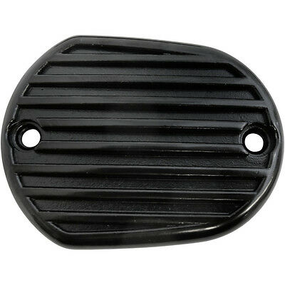 Tapa Bomba Freno Para Hd® Sportster® Master Cylinder Cover Front Black Finned