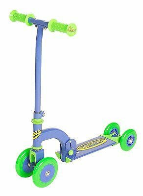 Ozbozz My First Scooters For Boys Blue 4 to 3, to 2! Wheel Folding Scooter