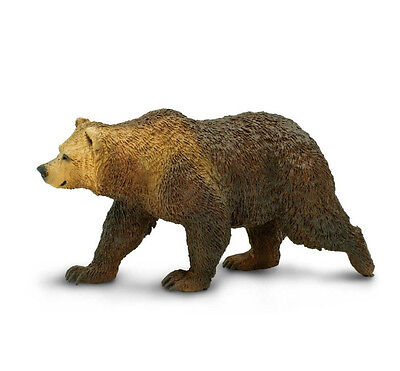 GRIZZLY BEAR Replica #181329 ~ FREE SHIP in USA w/$25+ SAFARI Products