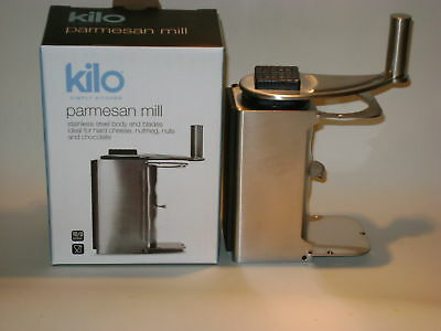 New Kilo Nutmeg Spice Parmesan Cheese Rotary Mill Grater Stainless Steel H62
