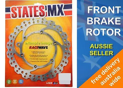 FRONT BRAKE DISC ROTOR WAVE for YAMAHA YZ250F 4T 2001 to 2016 YZ250FX 2015 2016
