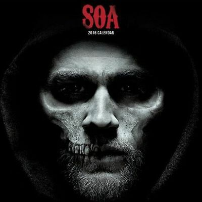 Official Sons Of Anarchy - 2016 Calendar - 30cm x 30cm