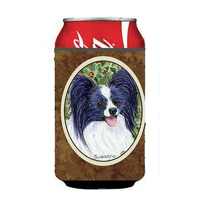 Carolines Treasures SS8811CC Papillon Can Or bottle sleeve Hugger 12 Oz.