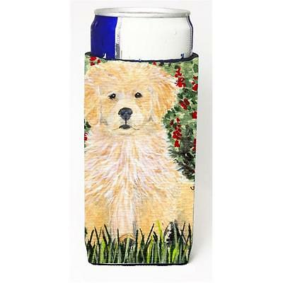 Carolines Treasures SS8857MUK Golden Retriever Michelob Ultra s for slim cans