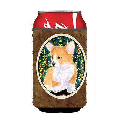 Carolines Treasures SS8967CC Corgi Can Or Bottle Hugger 12 oz.