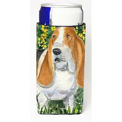Carolines Treasures SS8964MUK Basset Hound Michelob Ultra s For Slim Cans 12 oz.