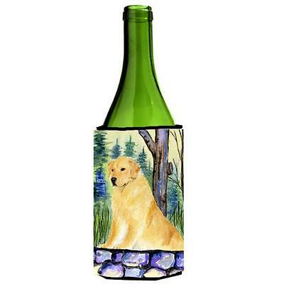 Carolines Treasures SS8111LITERK Golden Retriever Wine Bottle Hugger 24 oz.
