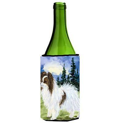 Carolines Treasures SS8975LITERK Papillon Wine Bottle Hugger 24 oz.