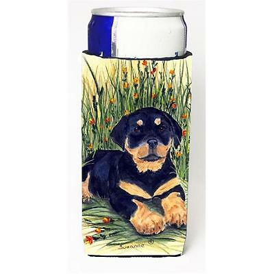 Carolines Treasures SS8107MUK Rottweiler Michelob Ultra s For Slim Cans 12 oz.