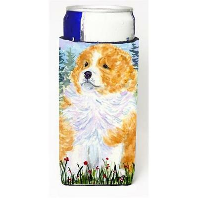 Carolines Treasures SS8918MUK Sheltie Michelob Ultra s For Slim Cans 12 oz.