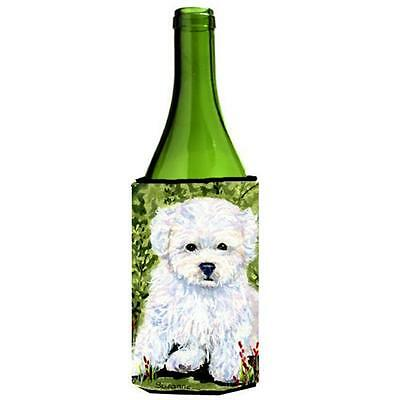 Carolines Treasures SS8913LITERK Bichon Frise Wine Bottle Hugger 24 oz.