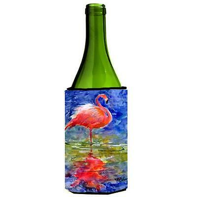 Carolines Treasures MM6029LITERK Bird Flamingo Wine Bottle Hugger 24 oz. • AUD 48.26