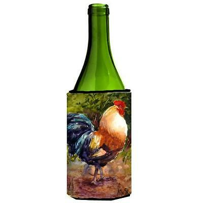 Carolines Treasures MM6021LITERK Bird Rooster Wine bottle sleeve Hugger 24 oz.