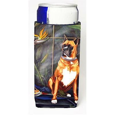 Carolines Treasures VLM1024MUK Boxer Michelob Ultra bottle sleeve for Slim Can • AUD 47.47