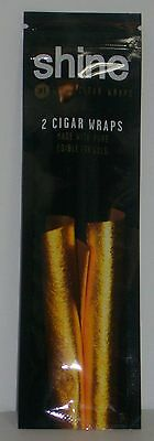 Shine 24K Gold Cigar Wrap 2-pack