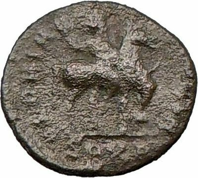 ARCADIUS on horseback 383AD Authentic Ancient Roman Coin i22496
