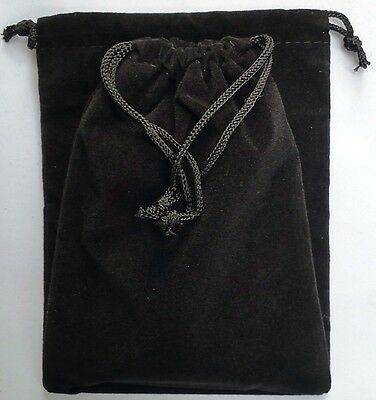 Black Velvet Drawstring Oracle Pouch