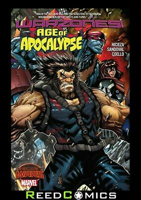 AGE OF APOCALYPSE WARZONES GRAPHIC NOVEL New Paperback Collects (2015) #1-5
