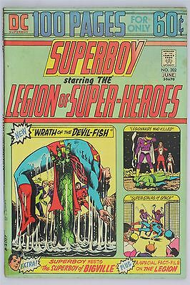 DC Comics Superboy #202 1974 Vintage VG+ Bronze Age Nick Cardy Neil Adams