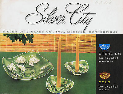 Silver City Glass Company - 18 Catalogs on DVD, 1947-1970s + Rockwell 1960s - 2d