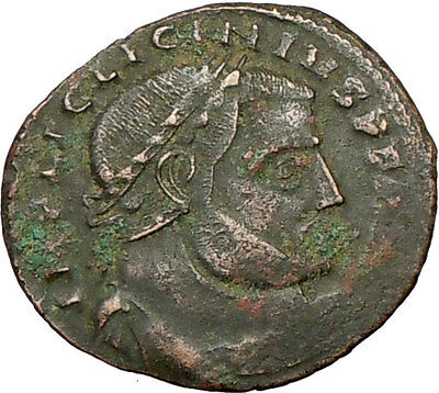Licinius I Constantine The Great enemy 313AD Ancient Roman Coin Jupiter i19307
