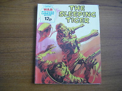 WAR PICTURE LIBRARY  - No. 1526 - THE SLEEPING TIGER - 1978