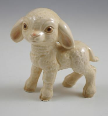 Vtg Goebel  W.germany Porcelain Baby Lamb Figurine, Nativity