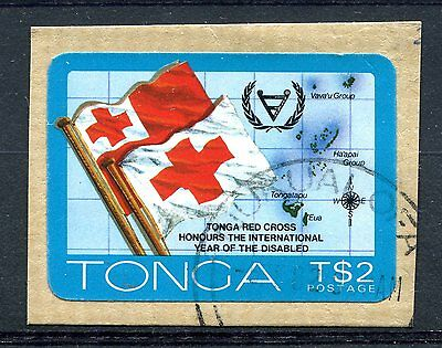 Tonga 1981 Red Cross honours International Year of the Disabbled Used