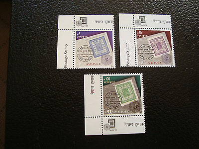 NEPAL - timbre yvert et tellier n° 844 a 846 n** (A20) stamp