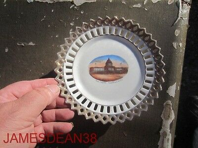 State Capitol St Saint Paul Minnesota Mn Early Souvenir Plate China Germany