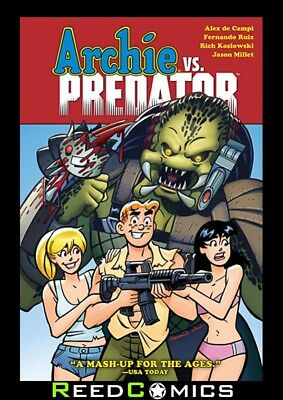 ARCHIE VS PREDATOR HARDCOVER New Hardback Collects Issues #1-4 by Dark Horse
