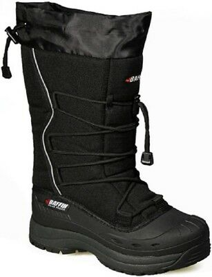 New Ladies Size 8 Black Baffin Snogoose Snowmobile Winter Snow Boots Rated -40F