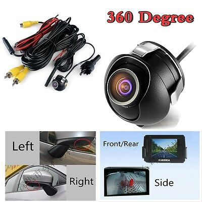 Universal  360° New CCD Car Front/Side/Rear View Reverse Camera Night Vision