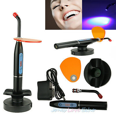 New Rechargeable Dental 10W Wireless Cordless LED Curing Light Lamp 2000mw US