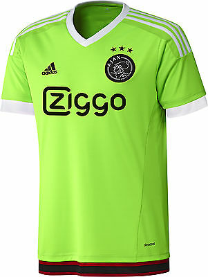 Adidas Ajax Away 2015/16 Mens Football Shirt - Green