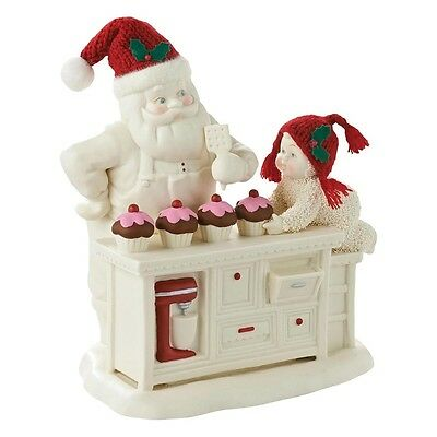 Snow Babies - Baking In The Kitchen With Santa - 4045667 - New - Boxed