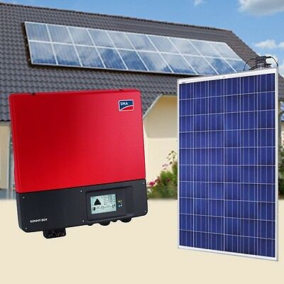 5kw 5000 watt Complete On Grid Solar Panel Kit, 30% Fed Tax Credit End 2016