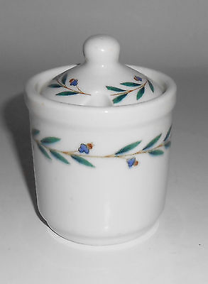 Iroquois Restaurant China Laurel Mustard Jar W/Lid!