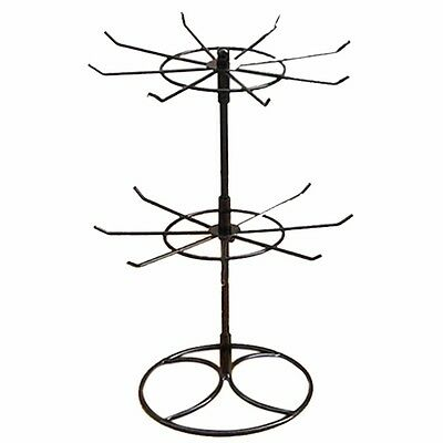 New Rotating Earring Bracelet Ring Necklace Jewelry Display Stand Holder Rack
