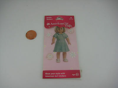 AMERICAN GIRL JULIE PUFFY~BUBBLE STICKER CHRISTMAS OUTFIT~RED VELVET JUMPER