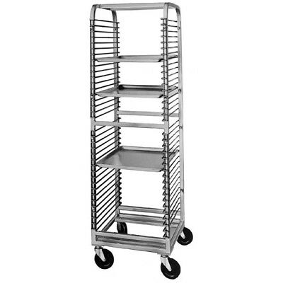 "Channel Wire Bun Pan Rack For 36 Pans. Rack (Shown in Picture) is 68-1/2"" High"