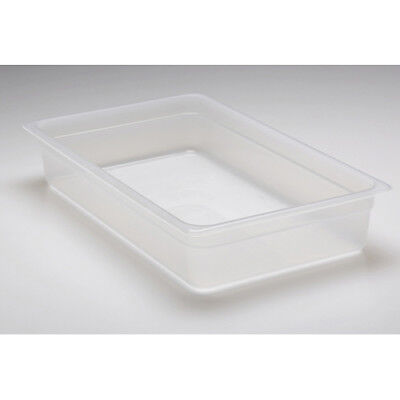 "Cambro Translucent Food Pan, Full Size (12"" x 20"") Size 4"""