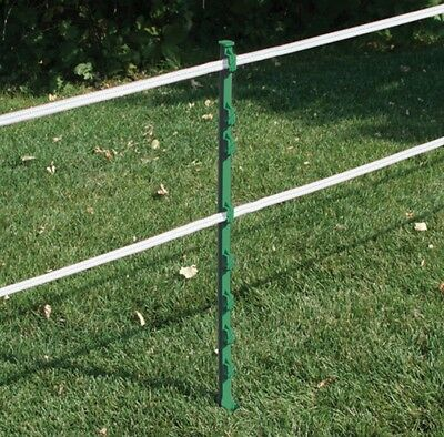 60X GREEN 3FT POSTS - RUTLAND Electric Fencing Fence Stakes Poles TOP QUALITY