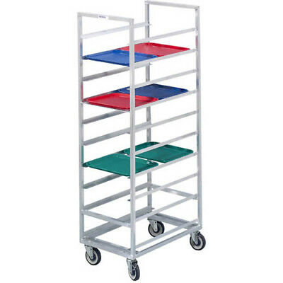 Channel Cafeteria Tray Rack for 14x18 Trays For 30 Trays. Rack is Aluminum