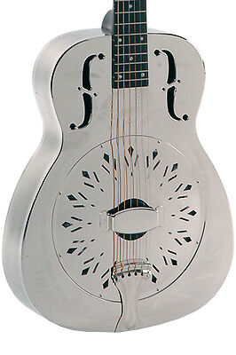 RESONATOR GUITAR JOHNSON JM-998S : with Palm trees engravings 1. WAHL