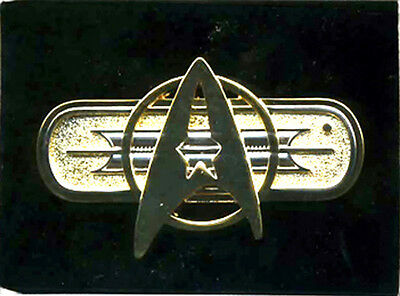 Star Trek Federation Uniform Deluxe Insignia Jacket Pin-Movies- FREE S&H