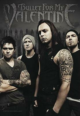 "Bullet For My Valentine Flagge / Fahne ""bandpicture"" Poster Flag"