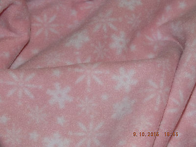 PINK SNOW FLAKE FLEECE..Hand Made Sphynx Cat Clothes for those Pampered Pets.