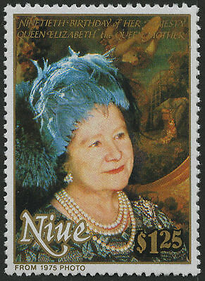 Niue 1990 Queen Mother MNH